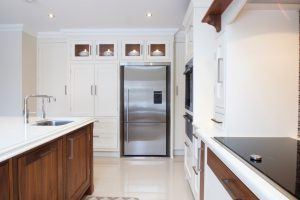 Traditional handprinted and solid wood kitchen