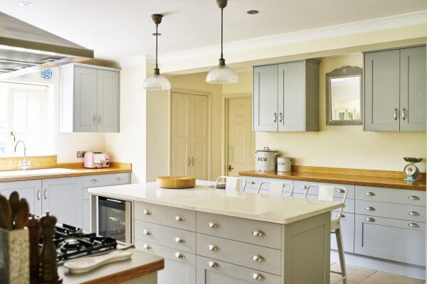 Hand-painted traditional shaker kitchen