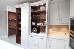 pantry shaker style traditional white kitchen